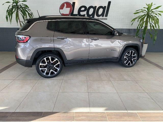 Jeep Compass 2019 2.0 Limited Flex C/Teto Solar - Foto 3