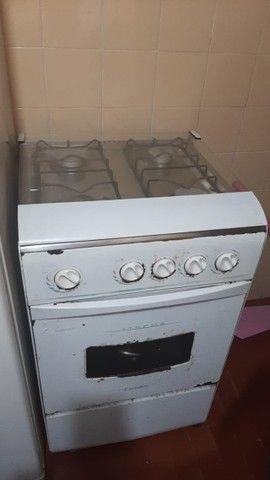 Refrigerador Defrost Esmaltec+ Fogão 4 bocas - Foto 6