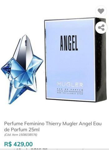 Perfume original importado *ANGEL*