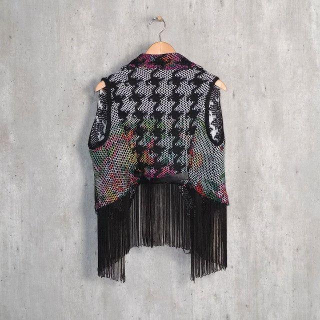 colete de lã tamanho único - Foto 2