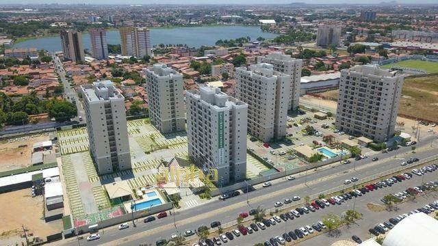 Apartamento Com Área de Lazer Completa no Jóquei Clube 02 Quartos - Foto 3