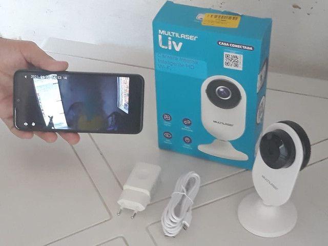 Câmera de segurânça wi-fi acesso via celular - Foto 2