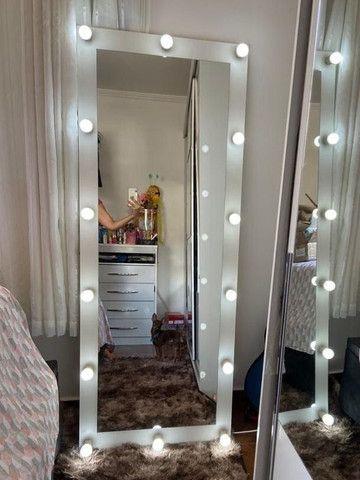 Espelho Camarim Corpo Todo Casa Salão de Beleza - Foto 4