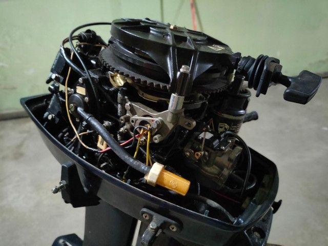 Motor popa Everund 30HP Elétrico  - Foto 7