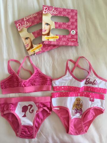 Conjunto Calcinha + Top Barbie