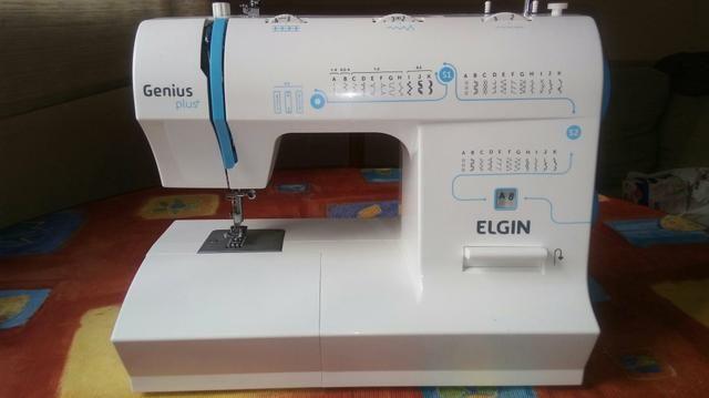 Máquina de Costura Elgin Genius Plus+ JX-4035 Pouco uso