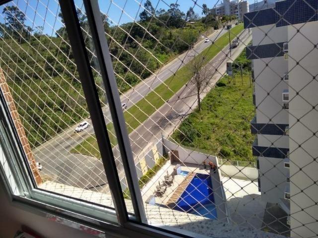 (BM) Apto de 2 dorm. semi-mobiliado, no Residencial Villa Dourada, Bela Vista, em São José - Foto 14