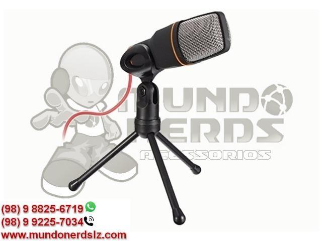 Microfone Condensador Profissional para Gravar Videos Lelong LE-908 em São Luís MA - Foto 2