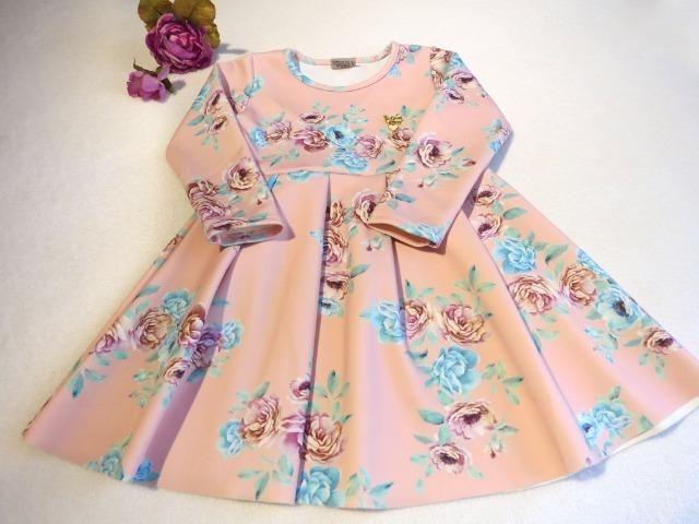 28e5eb859 Vestido de neoprene Milon - Artigos infantis - Mossunguê, Curitiba ...