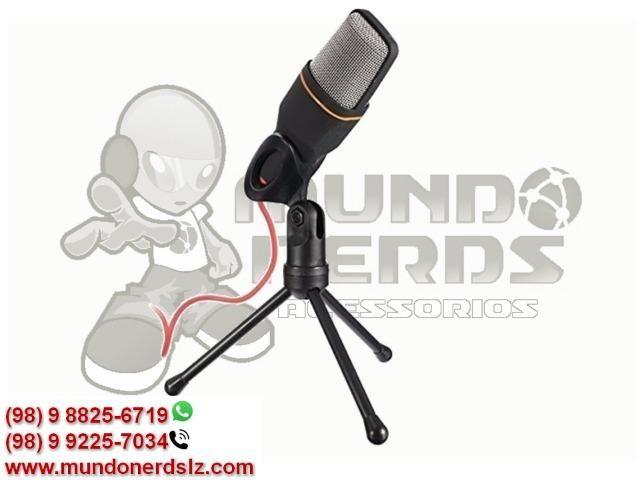 Microfone Condensador Profissional para Gravar Videos Lelong LE-908 em São Luís MA