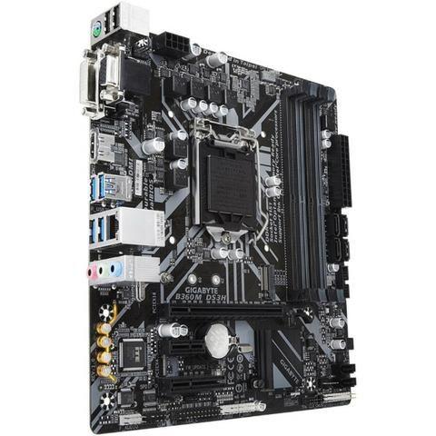 Placa-Mãe Gigabyte B360M DS3H, Intel LGA 1151, mATX, DDR4 - Foto 2