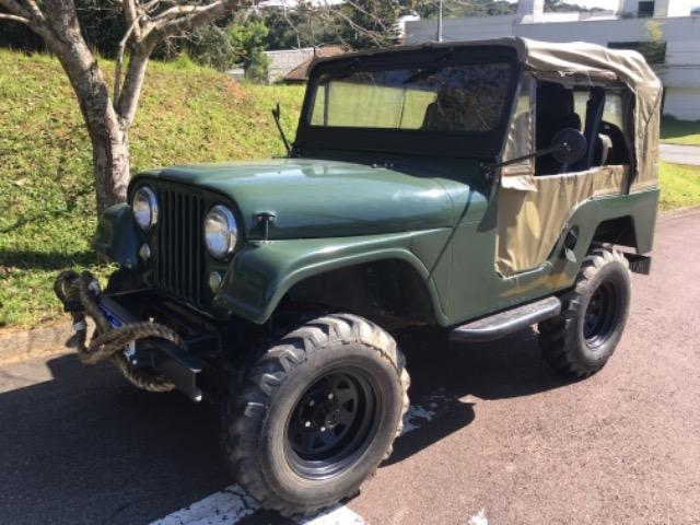 Jeep Willys 1957 4 marchas 4cc