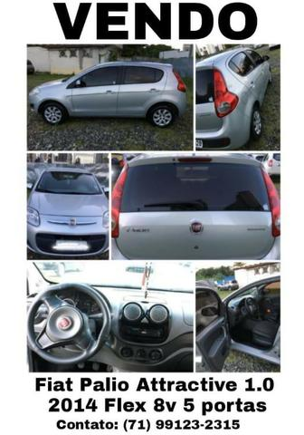 Fiat Palio Attractive 2014 1.0 8V Flex 4 portas Manual R$24.500