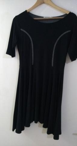 Vestido Rabusch Preto Curto M - Foto 4