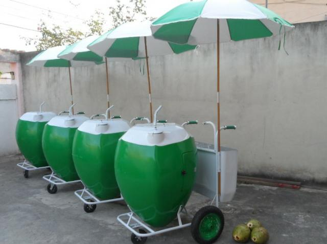 Carrinho para água de coco - Foto 5