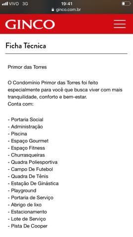 Terreno Ótimo / Condominio Primor das Torres - Foto 4