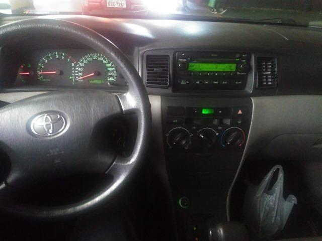 Vendo Corolla 2008 xei automático 1.8 flex - Foto 9