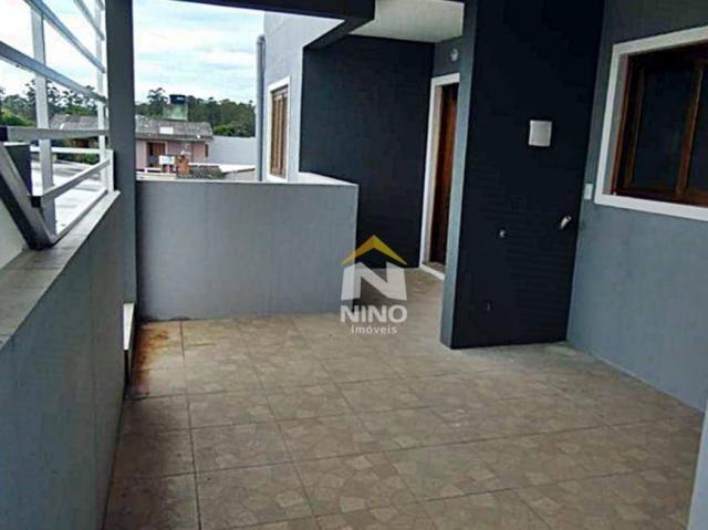 Apartamento com 2 dormitórios para alugar, 53 m² por r$ 1.000,00/mês - são vicente - grava - Foto 10
