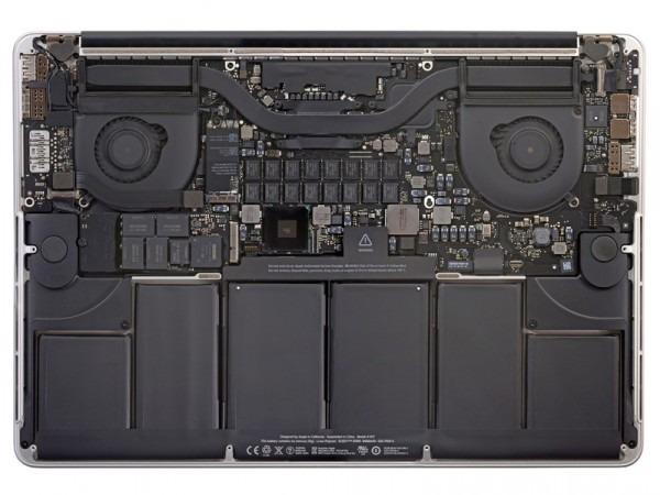 Bateria original MacBook a1398 2012 - instalacao