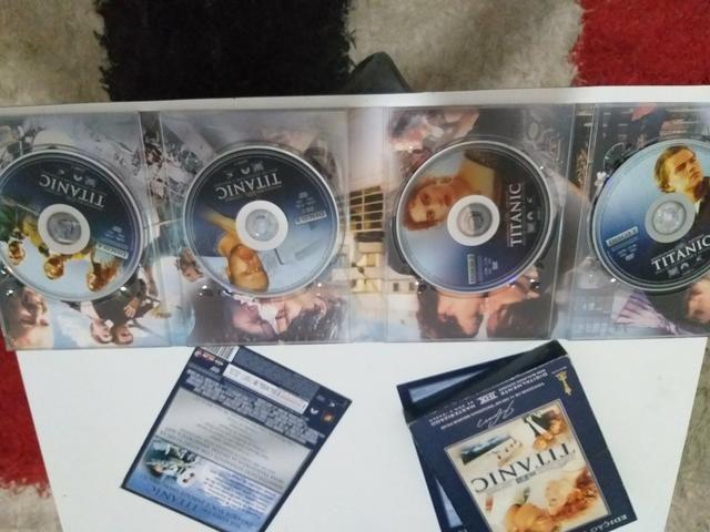 Dvd Titanic Edição Colecionador - Foto 4