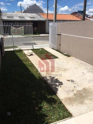 Casa com 2 dormitórios à venda, 58 m² por r$ 199.000 - sítio cercado - curitiba/pr - Foto 4