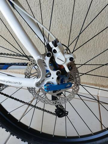 Bicicleta Bike Soul Aro 26 Grupo Shimano Deore - Foto 5