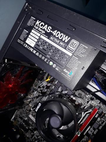 Fonte de alimentação Kcas Full range Nova para PC - Foto 3