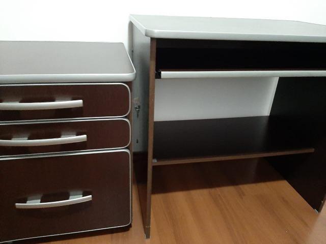 Mesa para computador e móvel com arquivo - Foto 6