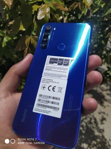 Xiaomi Redmi Note 8 64/4gb Com 6 Meses De Garantia Azul-Preto - Foto 6