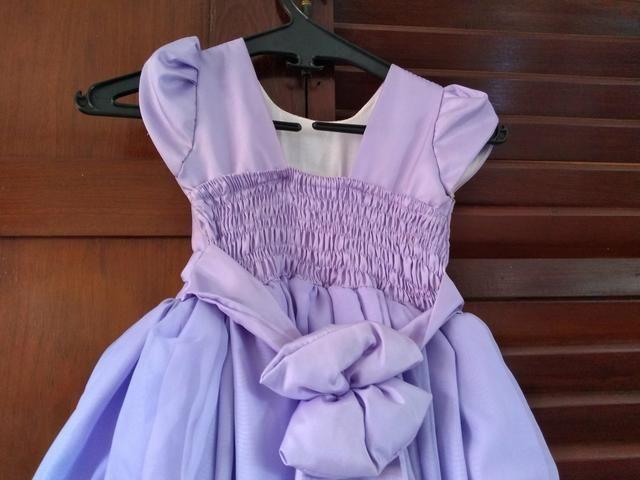 Vestido temático princesa Sofia