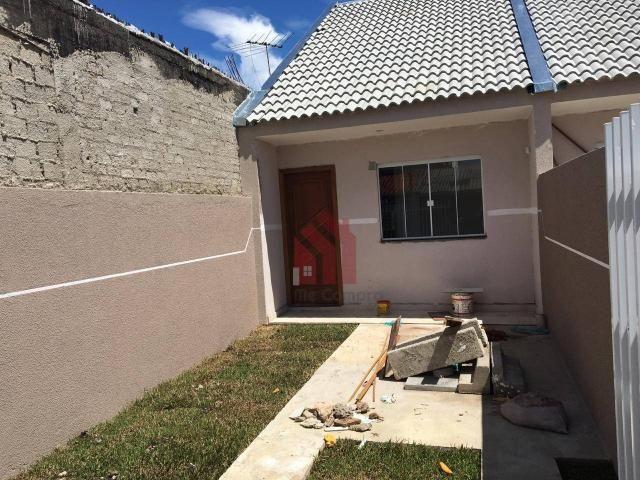 Casa com 2 dormitórios à venda, 58 m² por r$ 199.000 - sítio cercado - curitiba/pr - Foto 2
