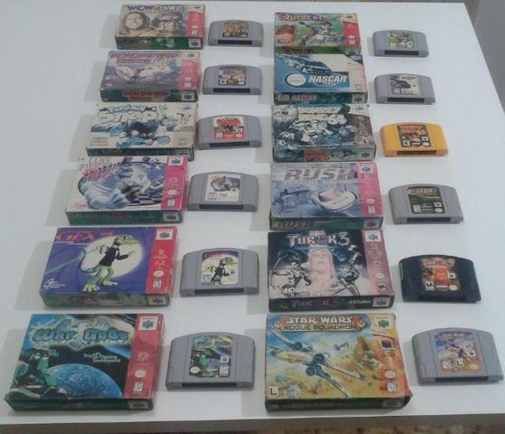 Fitas originais para Nintendo 64 (preço variado) - Foto 3