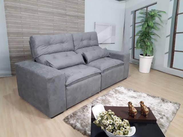 Retrátil e reclinável com pillow - 2.00m de comprimento - Promoção Imperdível - Foto 4