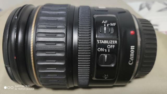 Lente Canon Ef 28mm 135 mm F/3.5-5.6 mm - Foto 4