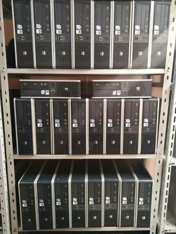 Computador Hp compaq 5800 core 2 duo 4gb hd 320 gb