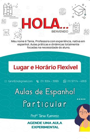 Professora Partícula de Espanhol