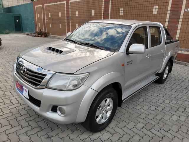 Toyota hilux 3.0 4x4 2013 diesel manual - Foto 3