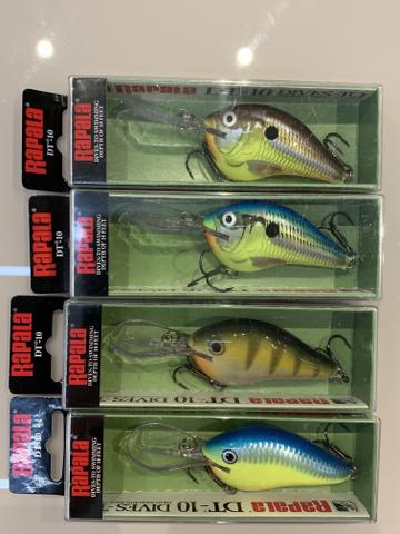 Isca Artificial Rapala DT-10