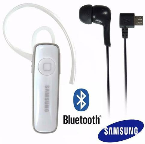 Fone De Ouvido Sem Fio Samsung Bluetooth Android iOS Música - Foto 5