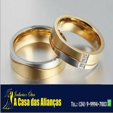 Bodas de Prata e de Ouro - Alianças em Promoção - Foto 4