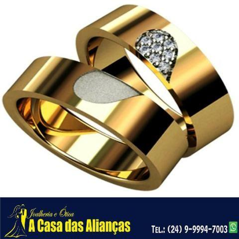 Bodas de Prata e de Ouro - Alianças em Promoção - Foto 5