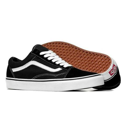Tênis Vans Old Skool Preto Masculino E Feminino 2cdc80a913b42