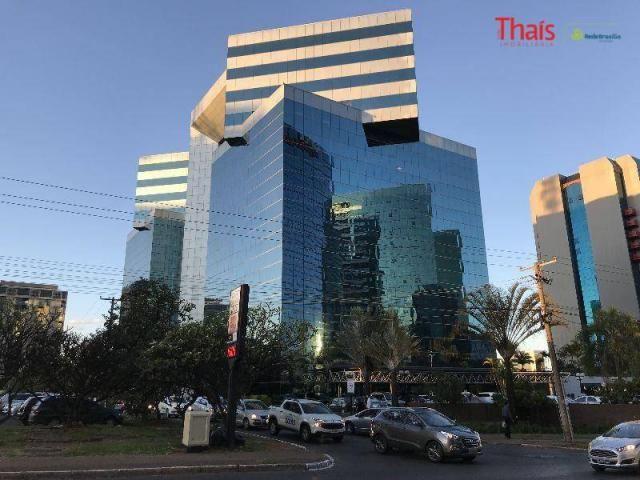Sala comercial de alto padrão, edifício corporate, asa norte, brasília.