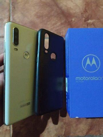 V/t Motorola one macro 128gb - Foto 4