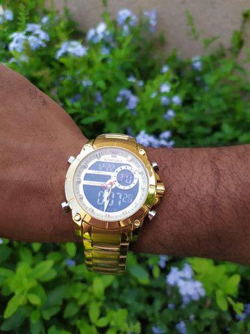 Relógio Naviforce Marca De Luxo Original Multifuncional,  Analógico e a prova d'água. - Foto 6