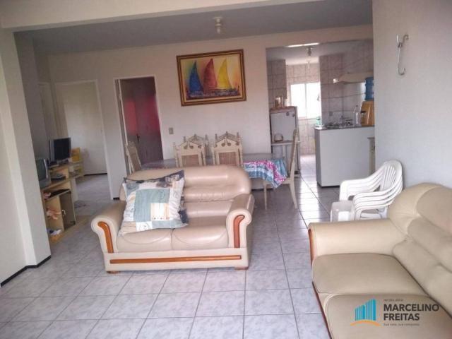 Apartamento com 3 dormitórios para alugar, 80 m² por R$ 859,00/mês - Icaraí - Caucaia/CE - Foto 9
