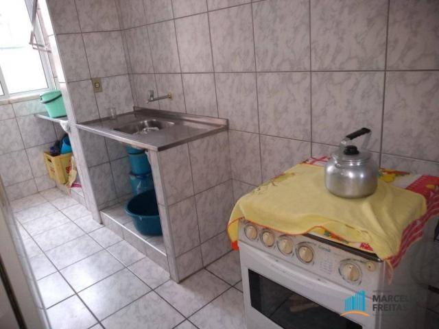 Apartamento com 3 dormitórios para alugar, 80 m² por R$ 859,00/mês - Icaraí - Caucaia/CE - Foto 12