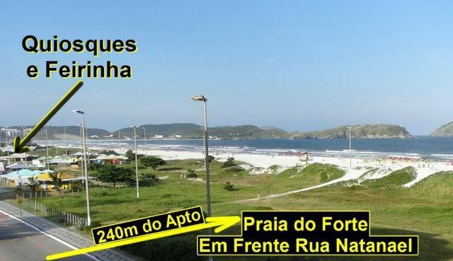 Cabo Frio Praia do Forte Temporada 1 Quarto 7 pessoas Garagem WIFI - Foto 6