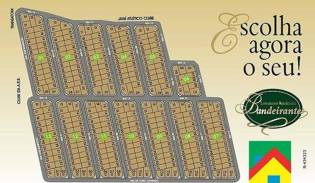 Residencial Bandeirantes - Entrada Facilitada - Lotes à Prestações - Jataí-GO - Foto 3