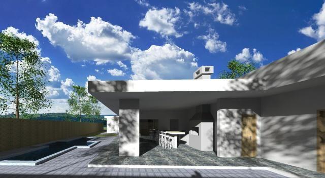Maravilhosa casa 3 suítes com piscina no CONDOMÍNIO ESTÂNCIA QUINTAS DA ALVORADA - Foto 5